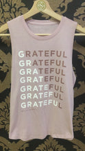 Load and play video in Gallery viewer, Spiritual Gangster XS Grateful Muscle Tank - Rose Quartz