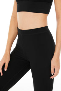 Alo Yoga XS High-Waist Alosoft Flow Legging - Black