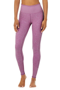 Alo Yoga XS Alosoft Lounge Legging - Electric Violet Heather