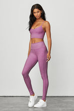 Load image into Gallery viewer, Alo Yoga XS Alosoft Lounge Legging - Electric Violet Heather