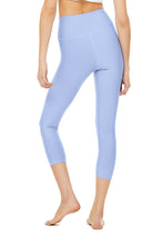 Load image into Gallery viewer, Alo Yoga XXS High-Waist Airlift Capri - Marina