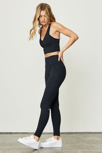 Alo Yoga SMALL High-Waist Cargo Legging - Dark Navy