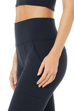 Load image into Gallery viewer, Alo Yoga SMALL High-Waist Cargo Legging - Dark Navy