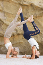 Load image into Gallery viewer, Alo Yoga Interlace Legging - Rich Navy