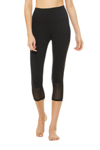 Load image into Gallery viewer, Alo Yoga SMALL Off The Grid Capri - Black