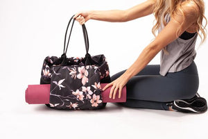 Vooray Aria Tote - Black Cherry Blossom