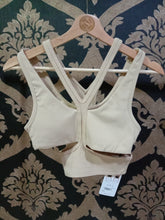 Load image into Gallery viewer, Alo Yoga SMALL Trackie Bra - Putty