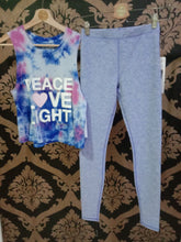 Load image into Gallery viewer, Alo Yoga SMALL High-Waist Alosoft Flow Legging - Periwinkle Heather