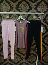 Load image into Gallery viewer, Spiritual Gangster MEDIUM Sg Varsity Essential High-Waist Legging - Paradise Pink