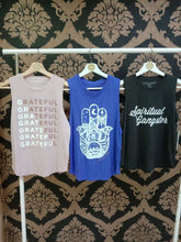 Load image into Gallery viewer, Spiritual Gangster XS Grateful Muscle Tank - Rose Quartz