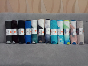Manduka Yogitoes® Yoga Mat Towel - Rainy Day