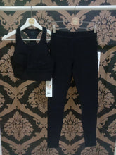Load image into Gallery viewer, Alo Yoga XS High-Waist Alosoft Flow Legging - Black