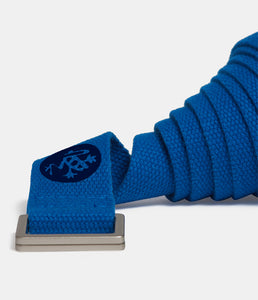 Manduka UNFOLD 2.0 Yoga Strap - Truth Blue