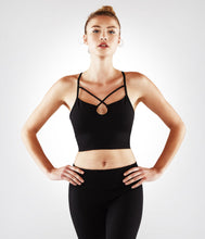 Load image into Gallery viewer, Manduka XS Luminous Bralette - Black