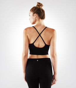 Manduka XS Luminous Bralette - Black