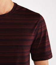 Load image into Gallery viewer, Manduka Men's Cross Train Tee - Port/Midnight