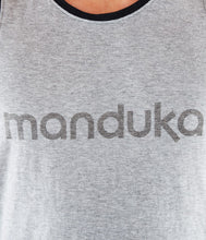 Load image into Gallery viewer, Manduka Men's Organic Tank - Heather Grey