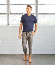 Load image into Gallery viewer, Manduka Men's LARGE Utility Knit Pant - Dark Grey Heather