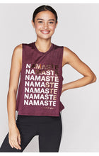 Load image into Gallery viewer, Spiritual Gangster XS Namaste Active Crop Tank - Fig