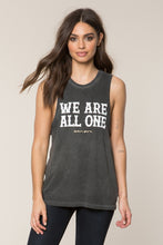 Load image into Gallery viewer, Spiritual Gangster We Are All One Rocker Tank