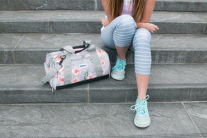 Vooray Burner Gym Duffel - Rose Grey