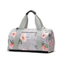Load image into Gallery viewer, Vooray Burner Gym Duffel - Rose Grey