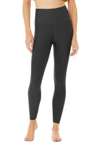 Load image into Gallery viewer, Alo Yoga XS High-Waist Airlift Legging - Anthracite