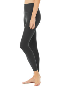 Alo Yoga XS High-Waist Airlift Legging - Anthracite