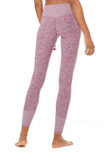 Load image into Gallery viewer, Alo Yoga SMALL 7/8 High-Waist Lounge Legging - Dragonfruit Heather