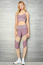Load image into Gallery viewer, Alo Yoga XS Alosoft Lush Bra - Dragonfruit Heather
