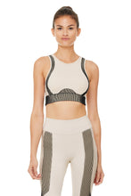 Load image into Gallery viewer, Alo Yoga SMALL Electric Bra - Bone