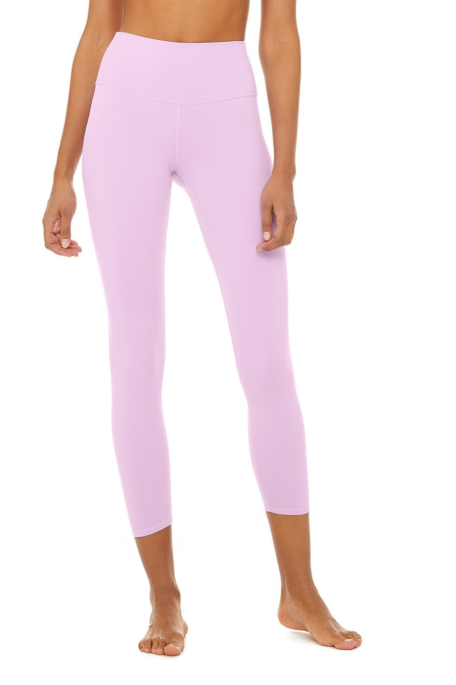 Alo Yoga SMALL 7/8 High-Waist Airbrush Legging - Ultraviolet