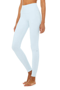 Alo Yoga XXS High-Waist Airbrush Legging - Powder Blue