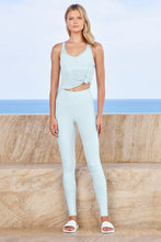 Load image into Gallery viewer, Alo Yoga XXS High-Waist Airbrush Legging - Powder Blue