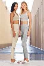 Load image into Gallery viewer, Alo Yoga SMALL High-Waist Washed Moto Legging - Sandstone Wash