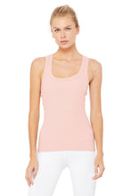 Load image into Gallery viewer, Alo Yoga XS Rib Support Tank - Pale Mauve