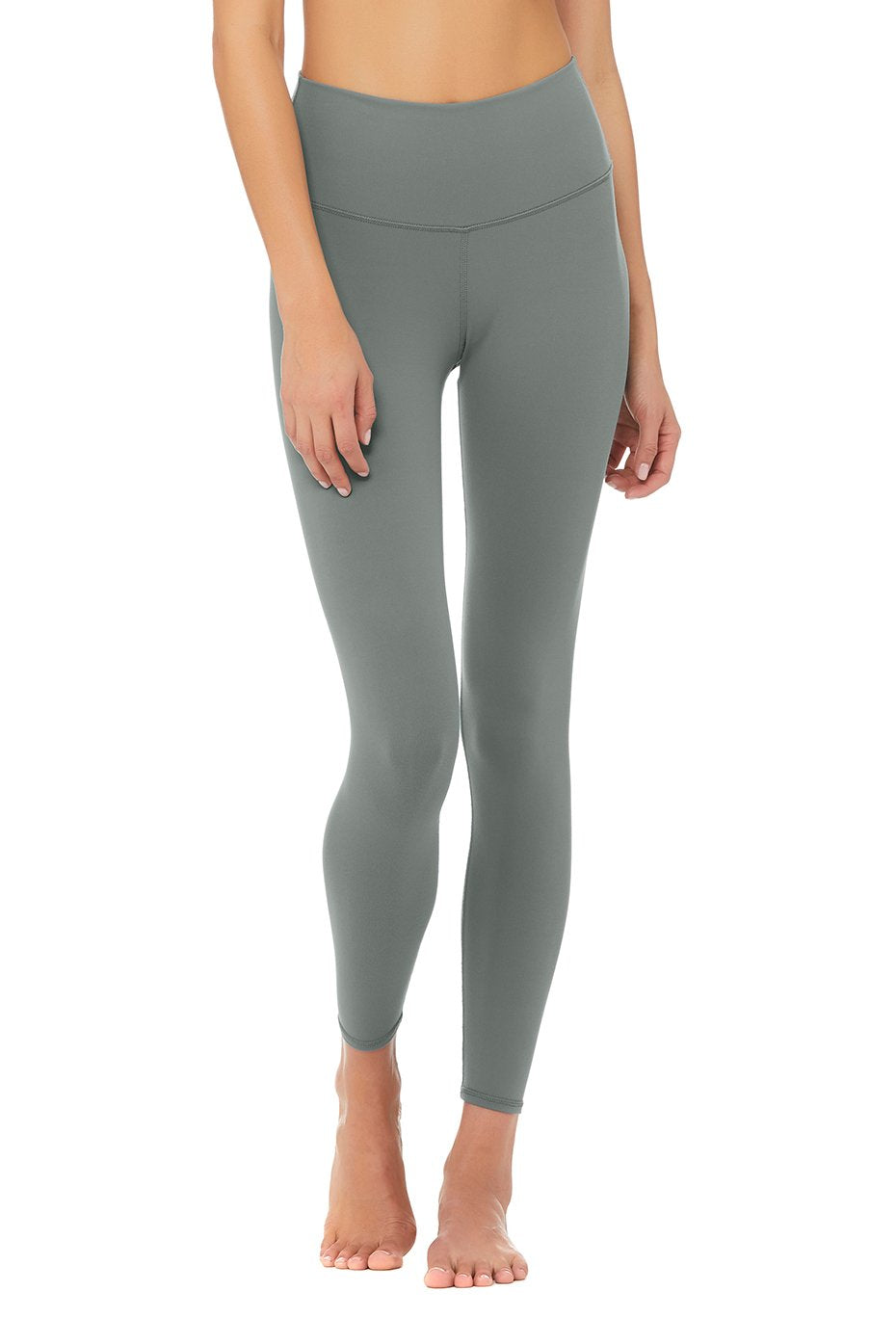 Alo Yoga 7/8 High-Waist Airbrush Legging - Concrete