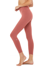 Load image into Gallery viewer, Alo Yoga 7/8 High-Waist Airbrush Legging - Rosewood
