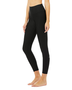 Alo Yoga XS 7/8 High-Waist Airlift Legging - Black