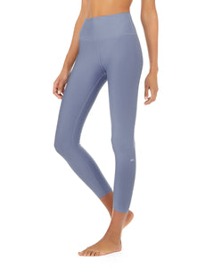 Alo Yoga SMALL 7/8 High-Waist Airlift Legging - Blue Jean