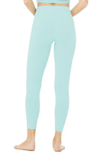 Load image into Gallery viewer, Alo Yoga XS 7/8 High-Waist Airbrush Legging - Blue Quartz