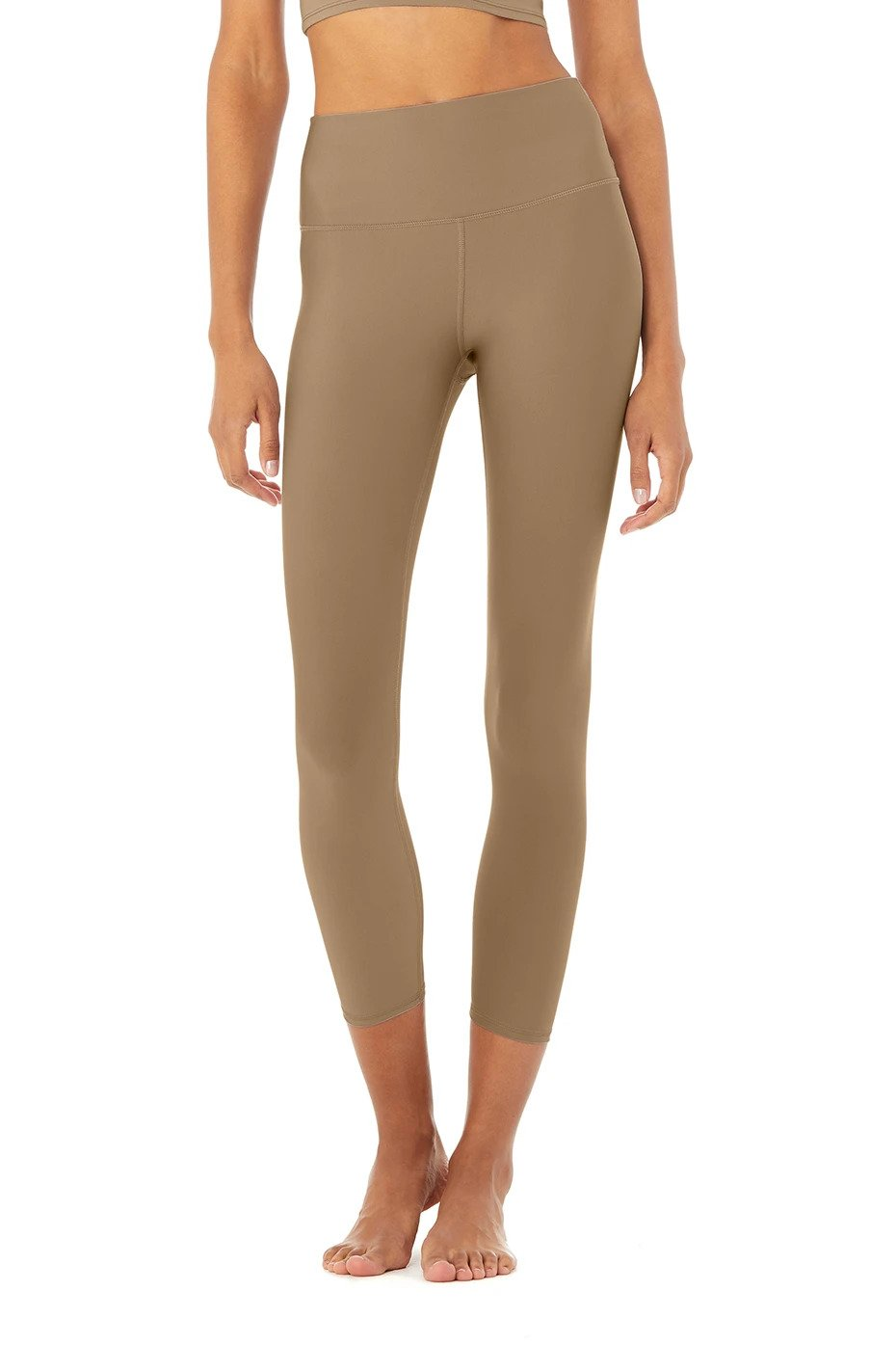 Alo Yoga XXS 7/8 High-Waist Airlift Legging - Gravel