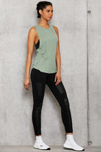 Load image into Gallery viewer, Alo Yoga XXS 7/8 High-Waist Moto Legging - Black Glossy