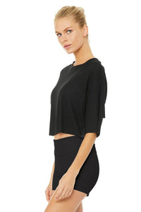 Alo Yoga Abyss Short Sleeve Top - Black