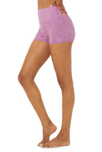 Load image into Gallery viewer, Alo Yoga SMALL Alosoft Aura Short - Electric Violet Heather