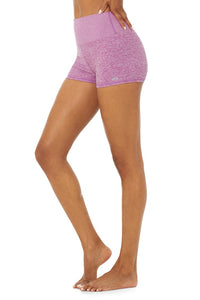 Alo Yoga SMALL Alosoft Aura Short - Electric Violet Heather