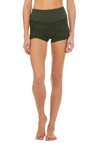 Alo Yoga XS Alosoft Aura Short - Hunter Heather