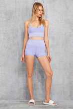 Load image into Gallery viewer, Alo Yoga SMALL Alosoft Lavish Bra - Periwinkle Heather