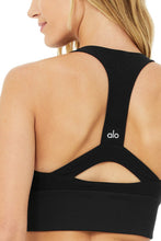 Load image into Gallery viewer, Alo Yoga XS Alosoft Serenity Bra - Black