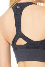 Load image into Gallery viewer, Alo Yoga Medium Alosoft Serenity Bra - Rich Navy Heather